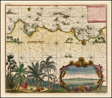 Southeast Asia and Other Islands Map By Johann Wolfgang Heydt