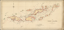 Caribbean Map By Royal Geographical Society