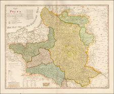 Poland and Baltic Countries Map By Franz Johann Joseph von Reilly