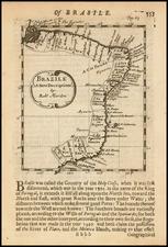 Brazil Map By Robert Morden