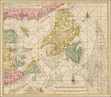 Canada Map By Gerard Van Keulen / Johannes II Van Keulen