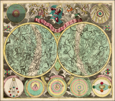 Celestial Maps Map By Johann Michael Probst