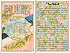 Baltic Countries Map By Antonio F. Raggio