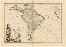 South America Map By Jean Janvier