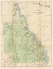 Australia Map By Chapman & Hall