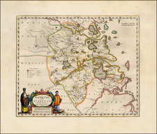 China Map By Willem Janszoon Blaeu