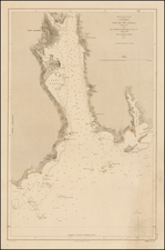 New England Map By Depot de la Marine