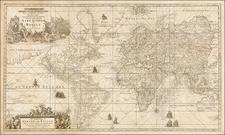 World Map By Gerard Van Keulen