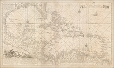 Caribbean Map By Gerard Van Keulen
