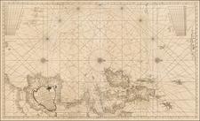 Atlantic Ocean Map By Johannes Van Keulen