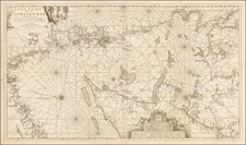 Scandinavia and Denmark Map By Johannes II Van Keulen