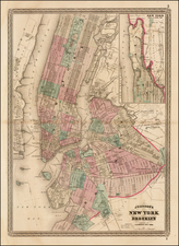 Mid-Atlantic Map By Alvin Jewett Johnson