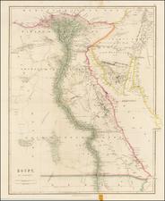 Egypt Map By John Arrowsmith