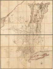 Map By Claude Joseph Sauthier
