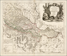 Balkans Map By Paolo Santini