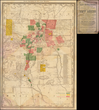 Southwest and New Mexico Map By William Rand / Andrew McNally