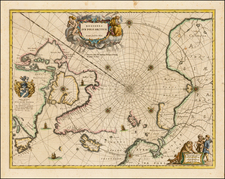 Polar Maps Map By Johannes Blaeu