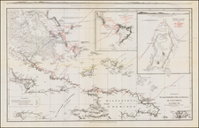 Caribbean and Hispaniola Map By John Murray