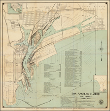 California Map By Harbor Department of the City of Los Angeles