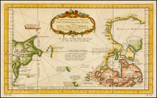 Polar Maps and Canada Map By Jacques Nicolas Bellin