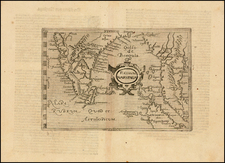 India and Southeast Asia Map By Giovanni Botero