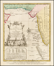 India Map By J.V. Schley