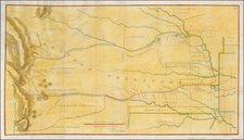 Plains and Rocky Mountains Map By Col. Henry P. Dodge / Lt. Enoch Steen