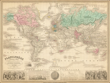 World and World Map By Alexandre Vuillemin