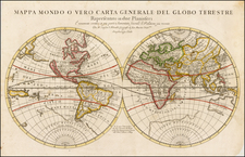 World and World Map By Giacomo Giovanni Rossi