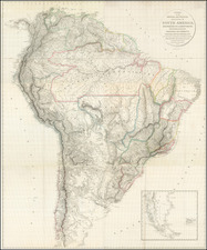 South America Map By Aaron Arrowsmith