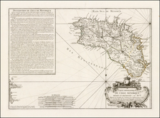 Spain and Balearic Islands Map By Jean de Beaurain