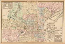 Mid-Atlantic Map By O.W. Gray