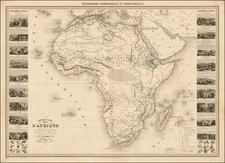 Africa and Africa Map By Alexandre Vuillemin