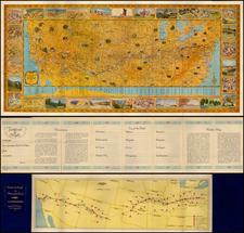 United States Map By Rand McNally & Company