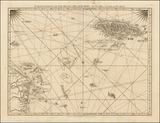 Caribbean and Central America Map By Thomas Jefferys