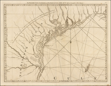 Texas Map By Thomas Jefferys