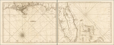 Florida, South, Alabama, Mississippi and Bahamas Map By Thomas Jefferys