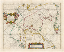 Polar Maps and Canada Map By Hendrick Doncker