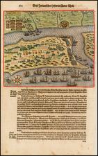 Florida Map By Theodor De Bry