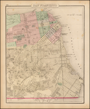 California Map By O.W. Gray