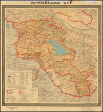 Map By CCCP Ministers Dept of Topography & Cartography