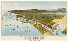 California Map By H.S. Crocker Co.