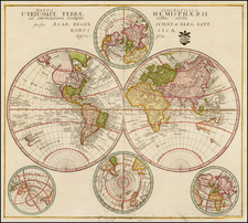 World and World Map By Leonard Von Euler