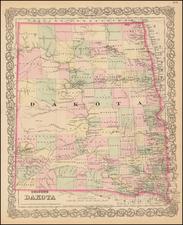Plains Map By G.W.  & C.B. Colton