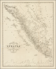 Indonesia Map By Pieter Baron Melvill van Carnbee