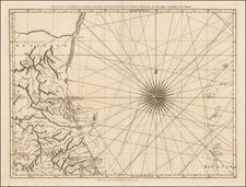 Texas and Mexico Map By Thomas Jefferys
