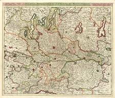 Europe, Switzerland and Italy Map By Justus Danckerts