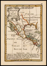 South, Southeast, Texas, Southwest and Mexico Map By John Gibson