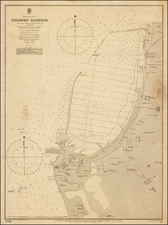 India, Other Islands and Sri Lanka Map By British Admiralty