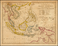 China, Southeast Asia and Philippines Map By Robert Wilkinson
